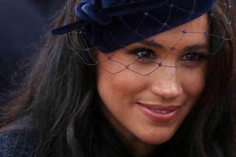 Duquesa Meghan visita memorial de guerra na Abadia de Westminster 07/11/2019 REUTERS/Hannah McKay