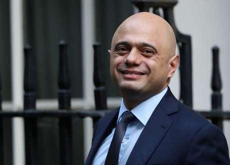 Ministro das Finanças britânico, Sajid Javid 19/10/2019 REUTERS/Simon Dawson