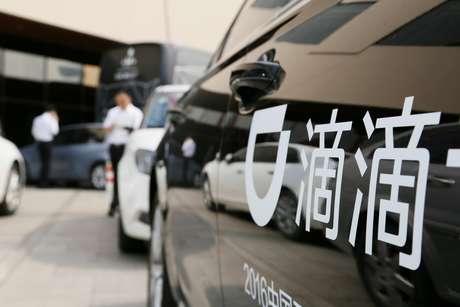 Logo da Didi em um dos carros da empresa em Pequim, China  21/06/2016 REUTERS/Stringer