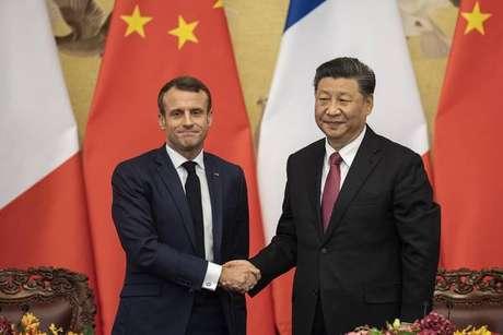 Na China, Macron e Xi sinalizam apoio ao multilateralismo