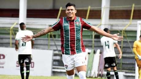 Evanilson é o artilheiro tricolor no Sub-20 (Foto: Maílson Santana/Fluminense)