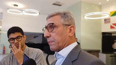 Alexandre Campello, presidente do Vasco, em sua última ida à sede da CBF (Foto: David Nascimento/Lancepress!)