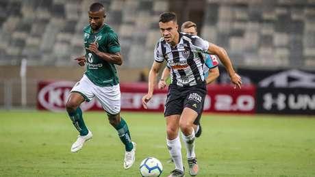 A noite atleticana teve nos jovens da base a força para conseguir os três pontos diante do Goiás- (Bruno Cantini/Atlético)