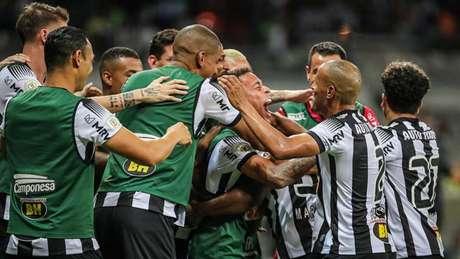 Marquinhos mostrou bom futebol mais uma vez e marcou o seu primeiro gol como profissional pelo Galo (Bruno Cantini/Atlético)