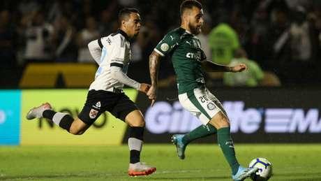 Vasco perdeu para o Palmeiras em casa (Foto: Cesar Greco/Palmeiras)