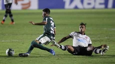 Palmeiras venceu o Vasco por 2 a 1, em São Januário (Foto: Paulo Sergio/Agencia F8/Lancepress!)