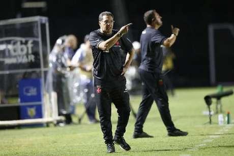 Vanderlei Luxemburgo na derrota do Vasco para o Palmeiras nesta quarta-feira (Foto: Rafael Ribeiro/Vasco)