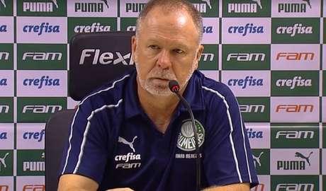 Mano Menezes repercute vitória sobre o Vasco, em São Januário (Foto: Reprodução)