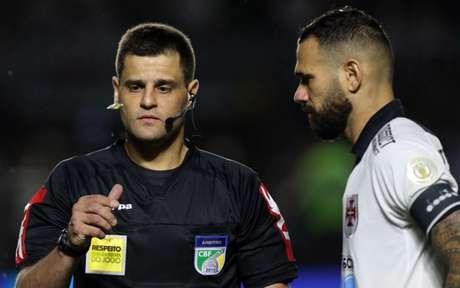 Rafael Traci foi o árbitro da partida (Foto: Divulgação/Palmeiras)