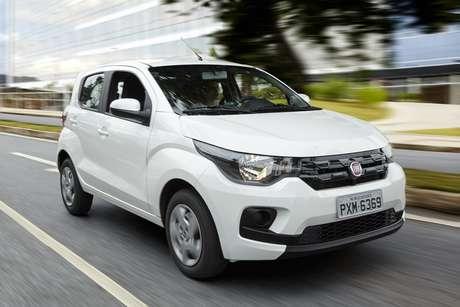 O Fiat Mobi vem com apenas dois airbags.