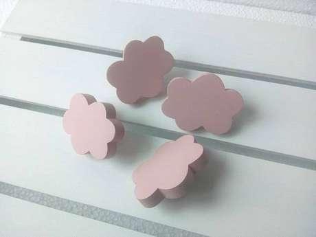 10. Modelos de puxadores de armário de madeira em formato de nuvem. Fonte: Pinterest