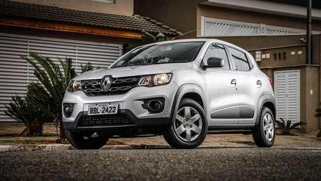 O Renault Kwid tem entre-eixos 11,8 cm maior que o do Fiat Mobi.