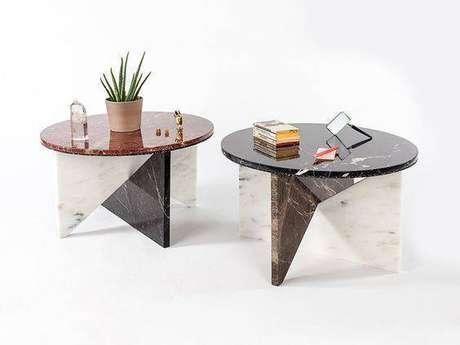 2. A mesa de mármore pode ser feita inteiramente da pedra. Foto: Arkpad