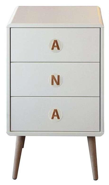 36. Puxador de madeira com acrílico para móveis. Fonte: Pinterest