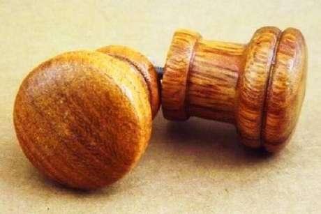 35. Puxador de madeira modelo cerejeira. Fonte: Mercado Livre