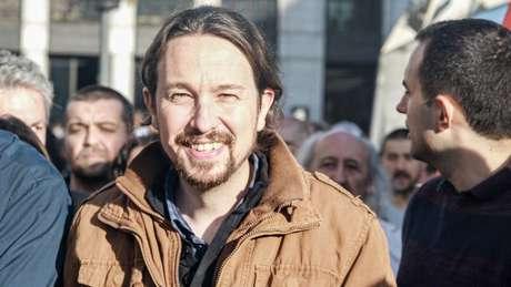 Pablo Iglesias emergiu como o líder político do movimento contra as medidas de austeridade 15-M, que originou o partido Podemos