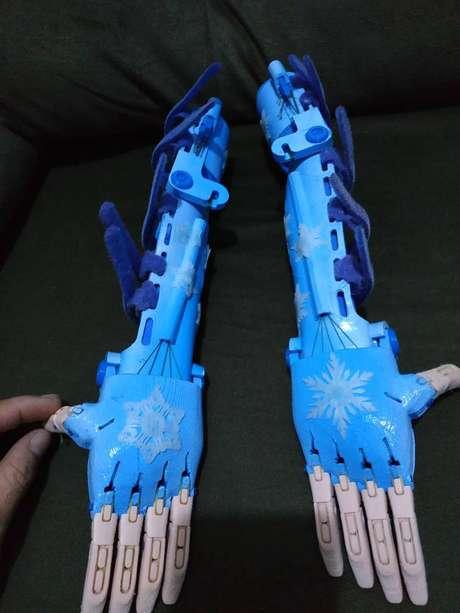 Equipamentos em 3D podem ser customizados para atividades físicas também.