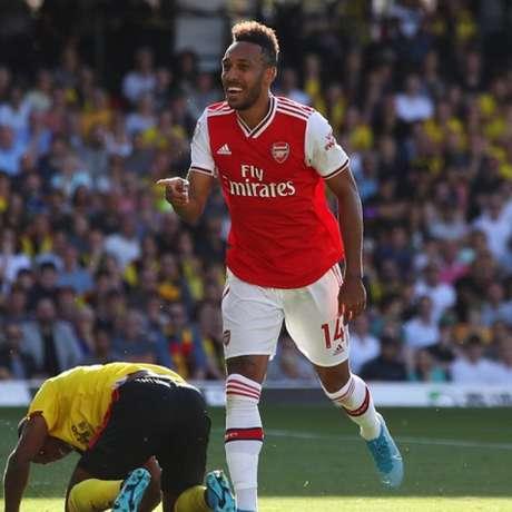 Aubameyang é um dos destaques do Arsenal (Foto: Reprodução)