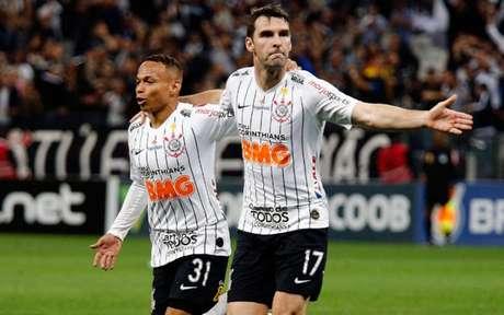 Corinthians bateu o Fortaleza na noite da última quarta e quebrou um jejum de oito jogos sem vitória (Foto: Luis Moura / WPP)
