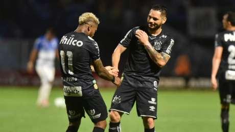 Santos enfrenta o Goiás, neste sábado, pelo Brasileiro (Foto: Ivan Storti/Santos)