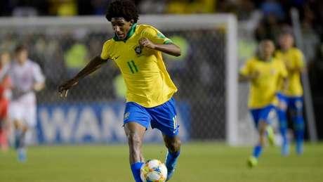 Talles Magno vinha sendo um dos destaques da Seleção Brasileira na Copa do Mundo Sub-17 (Foto: Flickr CBF Oficial)