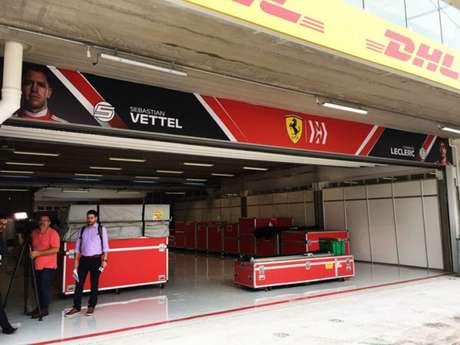 Novos boxes em Interlagos permitirão modulagem de acordo com desejo das equipes (Gabriel Gavinelli/ F1Mania)