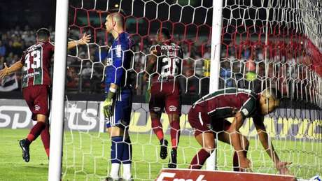 Digão comemora o primeiro gol do Flu no Morumbi - FOTO: Maílson Santana/Fluminense