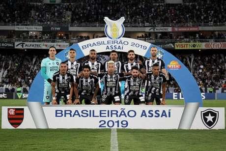 Equipe titular do Botafogo na derrota para o Flamengo (Foto: Vítor Silva/Botafogo)
