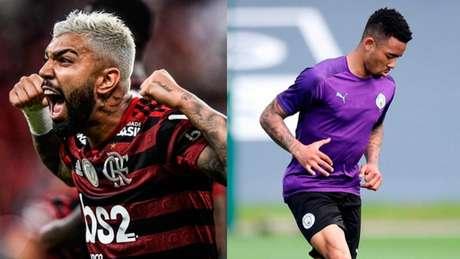 Gabriel: entre Barbosa e Jesus, comentarista Fábio Sormani escolheu seu atacante (Fotos: Reprodução Instagram)