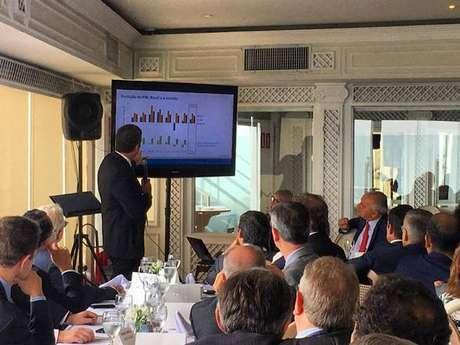 Presidente do BC se reúne com empresários italianos