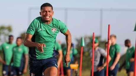 Voando, Marcos Paulo vive grande fase no Fluminense (Foto: Lucas Merçon/Fluminense)