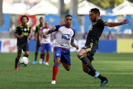 O Bahia venceu o Flamengo por 3 a 0 no primeiro turno, na Fonte Nova (Fotos: Felipe Oliveira / EC Bahia)