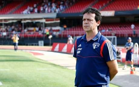 Fernando Diniz ainda tenta fazer o São Paulo ser estável (Foto:Luis Moura / WPP)