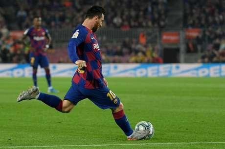 Messi é considerado o maior jogador da história do Barcelona (Foto: AFP)