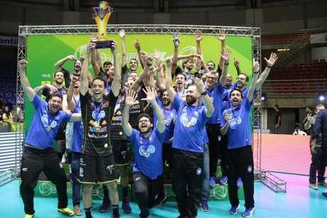 Taubaté conquistou o título da Supercopa esta semana e é o atual campeão da Superliga (Foto: Daniel Nunes)