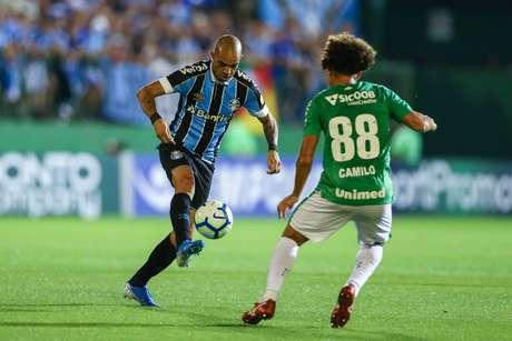 Grêmio não teve atuação de destaque contra a Chape, mas saiu com a vitória (Foto: Lucas Uebel/Grêmio)