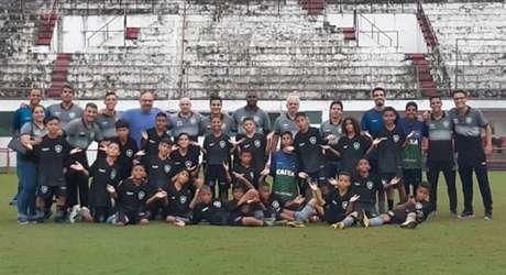 Sub-11 do Glorioso se classificou para decisão contra o Flu (Foto: Divulgação/Botafogo)
