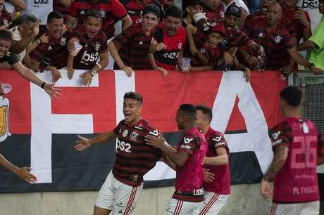 Flamengo saiu atrás, mas buscou a virada contra o Bahia (Foto: Alexandre Vidal/Flamengo)