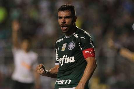 Bruno Henrique empatou para o Palmeiras.