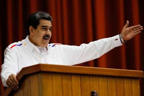 Presidente venezuelano Nicolás Maduro  03/11/2019 Palácio de Miraflores/Divulgação via REUTERS
