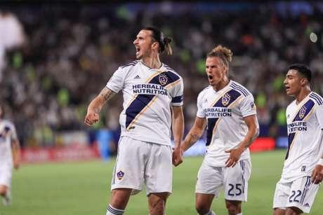 Ibrahiomvic soma 52 gols em 56 partidas pelo LA Galaxy (Divulgação/Los Angeles)