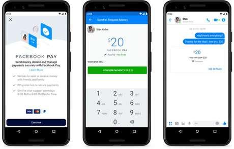 Facebook Pay foi lançado nos EUA