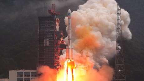 O serviço Beidou, da China, está expandido rapidamente, com mais de 10 lançamentos de satélite em 2018