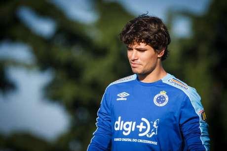 Dodô tem sido titular do Cruzeiro nas últimas rodadas (Foto: Vinnicius Silva/CEC)