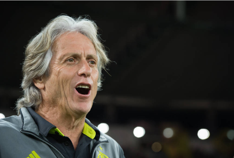 jorge Jesus pode garantir o título Brasileiro neste final de semana (Foto: Alexandre Vidal / Marcelo Cortes / Flamengo)