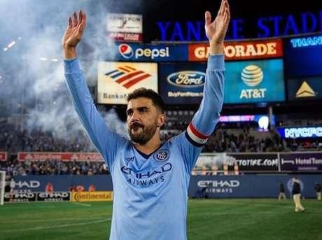 Villa voltará ao futebol dos Estados Unidos. Desta vez, como investidor (Foto: Divulgação)
