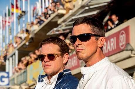 Matt Damon e Christian Bale em 'Ford X Ferrari'
