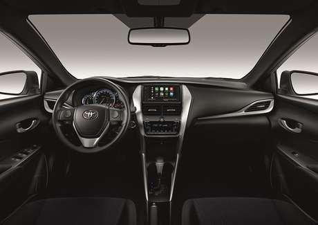 A nomenclatura Connect faz referência aos modelos equipados com Android Auto e Apple CarPlay.