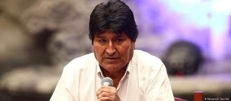 """Morales: """"Se não houver diálogo nacional vai ser difícil parar esse confronto"""""""