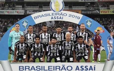 Elenco do Botafogo vem sofrendo com salários atrasados (Foto: Vítor Silva/Botafogo)